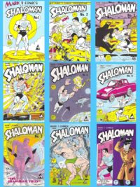 Shaloman-Volume-1-Comic-Set-Israeli-Defense-Comics