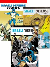 Israeli-Defense-Comics-Set-2018