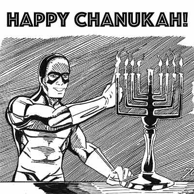 Happy Chanukah 5778!