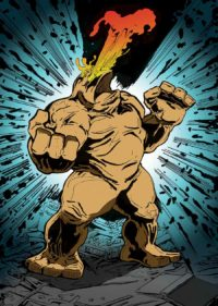 Golem-Comic-Art-Print-Joshua-Stulman-Israeli-Defense-Comics-Brooklyn-Comic-Shop