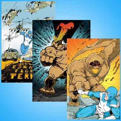 11″x17″ Comic Art Prints IN STOCK