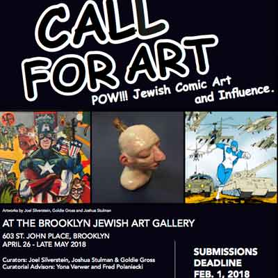 Joshua H. Stulman Co-Curates Jewish Comic Con Art Exhibit