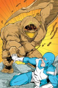 Magen-vs-The-Golem-Comic-Art-Print-Israeli-Defense-Comics-Brooklyn-Comic-Shop-Joshua-Stulman