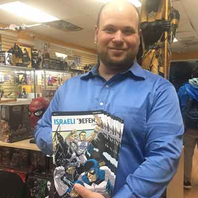 IDC #3 Comic Signing at The Spider's Web in Yonkers!