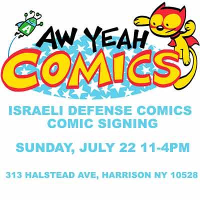 IDC Comic Signing @ Aw Yeah Comics July 22nd